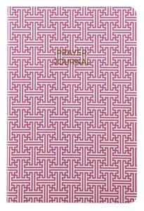 Prayer Journal:6 Month Weekly Layout (Pink Maze Design)