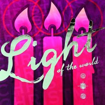 Christmas Boxed Cards Pink Candles, Light of the World