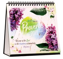 2018 Table Calendar: Proverbs
