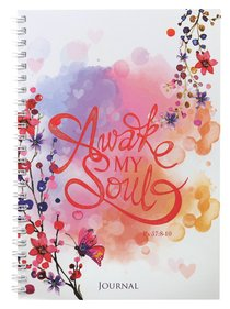 Softcover Journal: Awake My Soul, Psalm 57:8-10