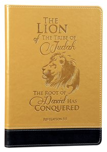 Leather Lux Journal: The Lion of the Tribe of Judah, Revelation 5:5
