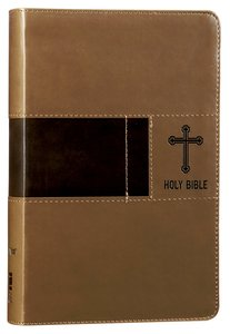 NIV Gift Bible Brown Duo-Tone