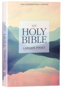 NIV Holy Bible Larger Print Lakeside