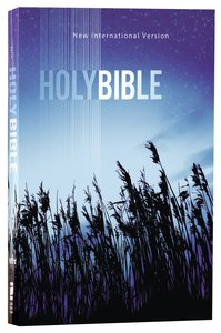 NIV Value Outreach Bible Blue Wheat (Black Letter Edition)