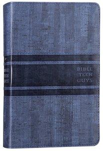 NIV Bible For Teen Guys Blue (Black Letter Edition)