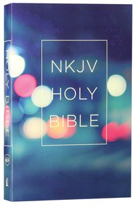 NKJV Value Outreach Bible Urban Lights Scenic