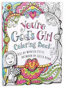 Coloring Book: Youre Gods Girl!