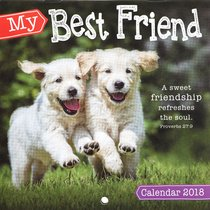 2018 Small Calendar: My Best Friend (Animals)