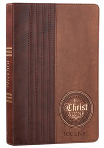 Journal: In Christ Alone, Two-Tone Browns