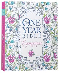 NLT One Year Bible Expressions Flora (Black Letter Edition)