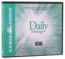 Daily Message: Through the Bible in One Year MP3 (Unabridged)