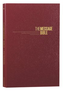 Message Gift and Award Bible Burgundy (Black Letter Edition)
