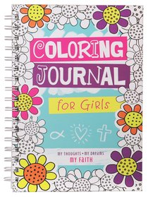 Coloring Journal For Girls