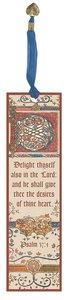 Illuminated Bookmark: Hours and Psalter of Elizabeth De Bohun