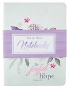 Notebook Set of 3: Floral, Rejoice Collection
