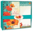 Poppies: Journal & Notepad Giftset, She is Strong Pack