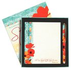 Poppies: Memo Pad & Pen Giftset, She is Strong Box