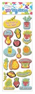 Puffy Stickers: The Fruit of the Spirit (1 Sheet Per Pack)