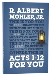 Acts 1-12 For You (Gods Word For You Series)
