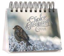 2018 Desk Calendar: Choice Gleanings