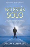 No Estas Solo: Un Rayo De Esperanza Cuando La Tristeza Profunda Invade Tu Vida Paperback