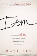I Am: Encounter the One Who Gives You Purpose and Meaning in a Crazy World Paperback