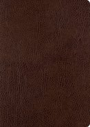 ESV Single Column Journaling Bible Large Print Mocha (Black Letter Edition) Bonded Leather