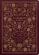 ESV Illuminated Bible Art Journaling Edition Burgundy (Black Letter Edition)