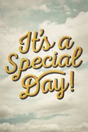 It's a Special Day! Large Print ESV (Pack Of 25) Booklet
