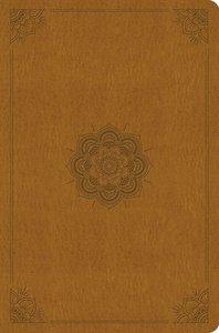 ESV Compact Outreach Bible Premium Edition Goldenrod Emblem Design (Black Letter Edition)