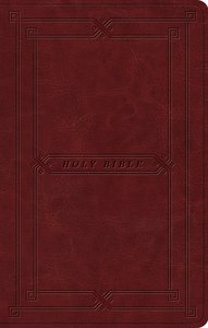 ESV Premium Gift Bible Cordovan Vintage Frame Design