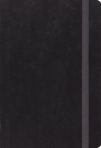 ESV Large Print Compact Bible Black With Strap