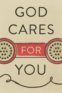 God Cares For You Large Print (Pack Of 25)