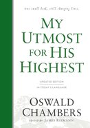 My Utmost For His Highest Hardback