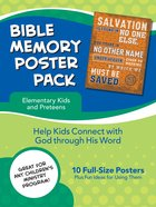 Bible Memory Poster Pack For Elementary Kids Poster