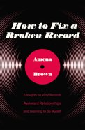 How to Fix a Broken Record eBook