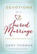 Devotions For a Sacred Marriage eBook