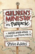 Children's Ministry on Purpose eBook