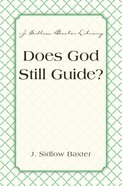 Does God Still Guide? eBook