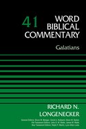Galatians, Volume 41 (Word Biblical Commentary Series) eBook