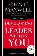 Developing the Leader Within You 2.0 eBook