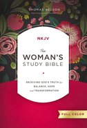 The NKJV, Woman's Study Bible, Full-Color, Ebook eBook