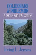 Colossians & Philemon- Jensen Bible Self Study Guide (Self-study Guide Series) eBook
