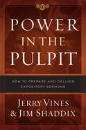 Power in the Pulpit eBook