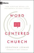Word-Centered Church eBook