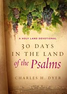 30 Days in the Land of the Psalms eBook