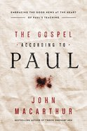 The Gospel According to Paul eBook