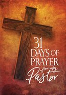 31 Days of Prayer For My Pastor eBook