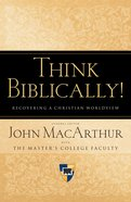 Think Biblically! eBook
