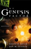 The Genesis Factor eBook